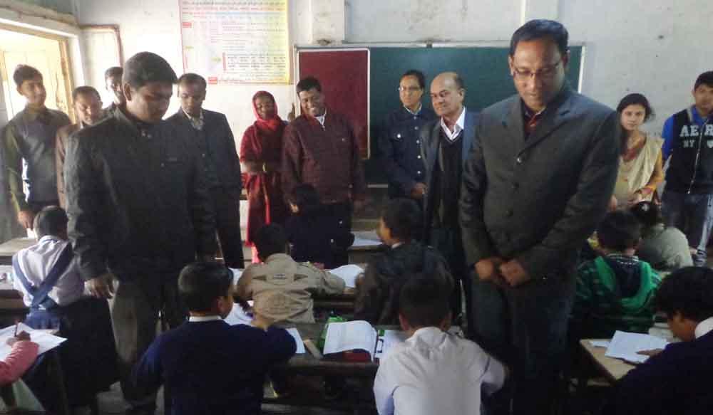 সোনাতলায় আলোর প্রদীপ বৃত্তি প্রকল্পের বৃত্তি পরীক্ষা অনুষ্ঠিত