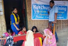 দিনাজপুরে ওয়ার্ল্ড ভিশনের কারচুপি প্রশিক্ষণঃ