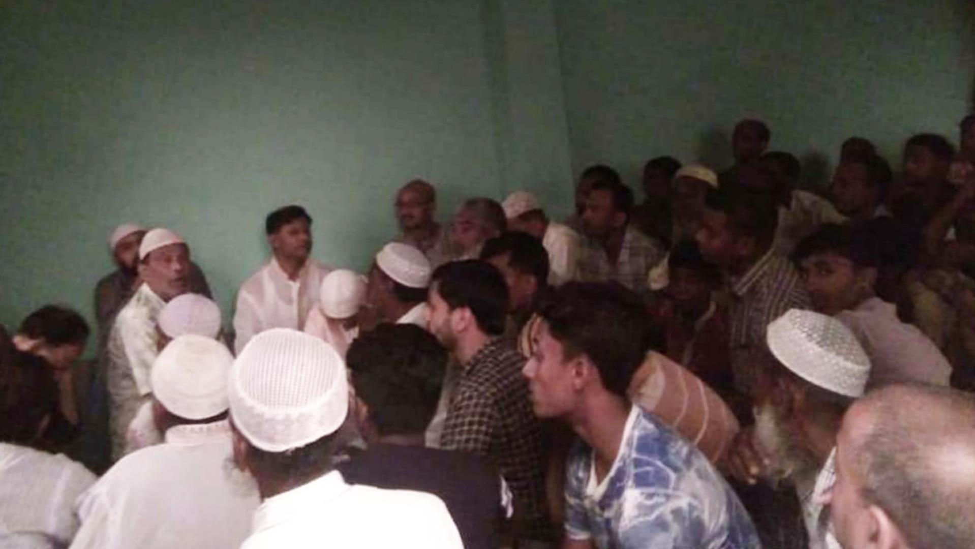 খোর্দ্দবলাইন সাংগঠনিক ইউপি'র ইফতার মাহফিল