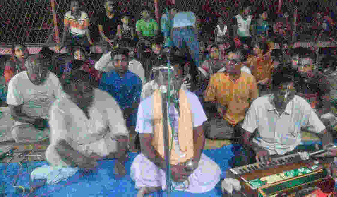 কলারোয়া ঝিকরা হরিতলা দূর্গা পুজা মন্দিরে রথ যাত্রারা ছিনান যাত্রারা অধিবাস অনুষ্টিত