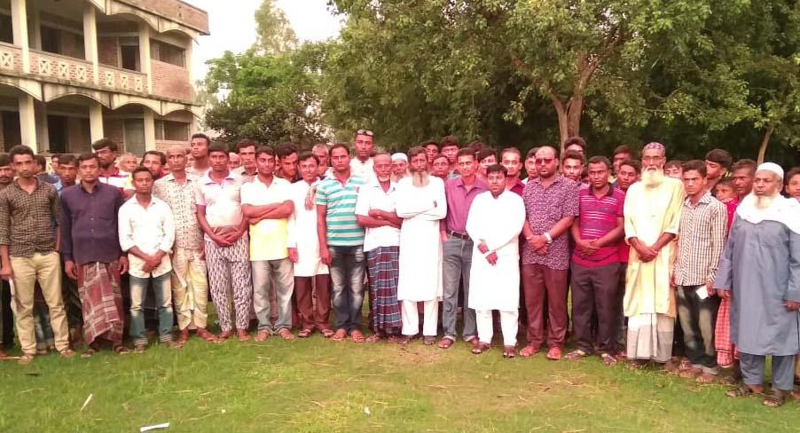 শিবগঞ্জ সদর ইউনিয়নে যুব সংহতির ১নং ওয়ার্ড কমিটি গঠন