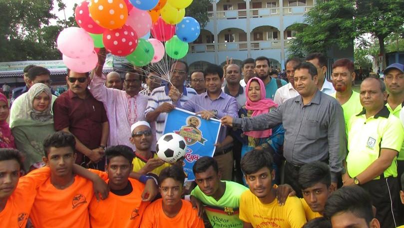 শিবগঞ্জে বঙ্গবন্ধু গোল্ডকাপ ফুটবল টুর্ণামেন্ট'র শুভ উদ্বোধন