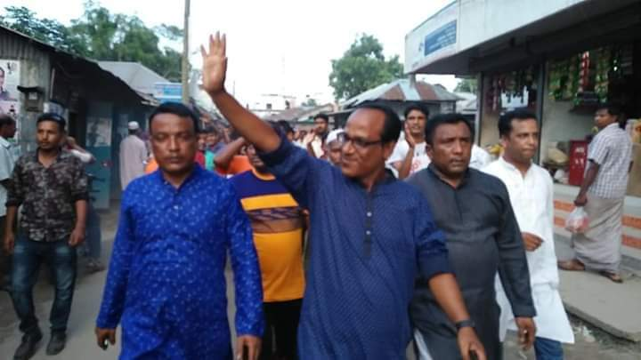 মহিমাগঞ্জ ইউপি'র উপ-নির্বাচনে রুবেল আমিন শিমুল চেয়ারম্যান হিসাবে নির্বাচিত