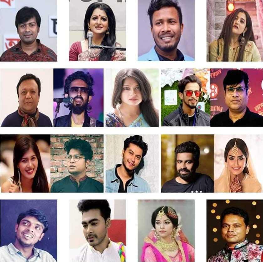 """করোনা সচেতনতায় তিন ভাষায় নির্মিত 'আমরা করবো জয়' আনন্দমেলা"""""""